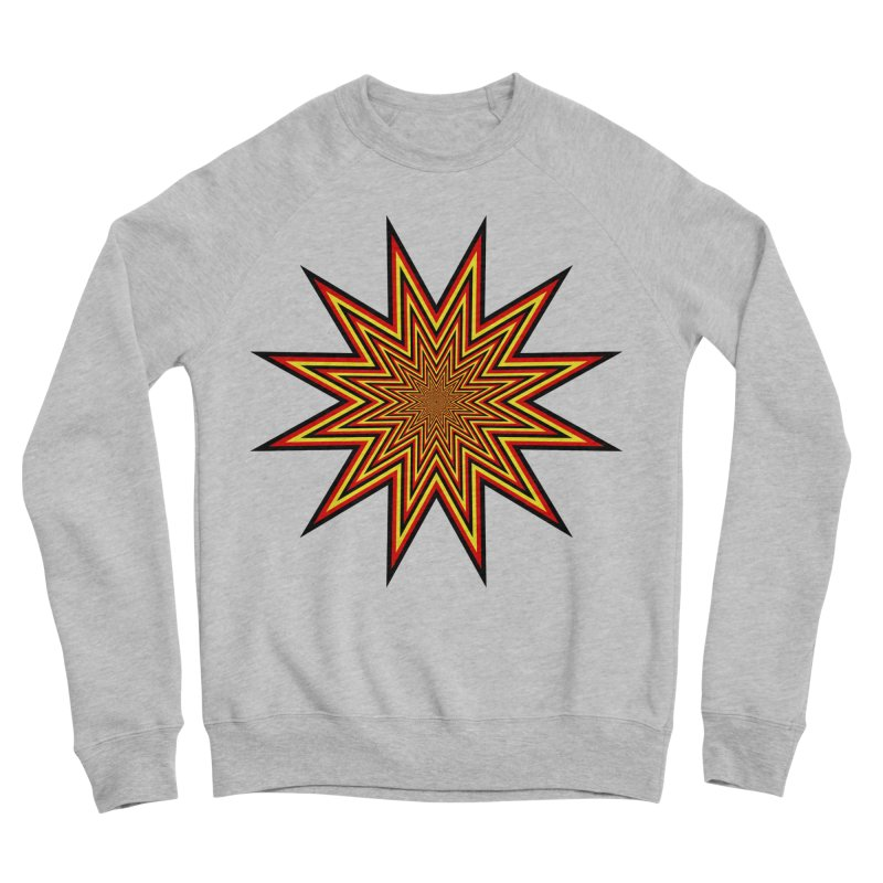 12 Star Men's Sponge Fleece Sweatshirt by nickaker's Artist Shop