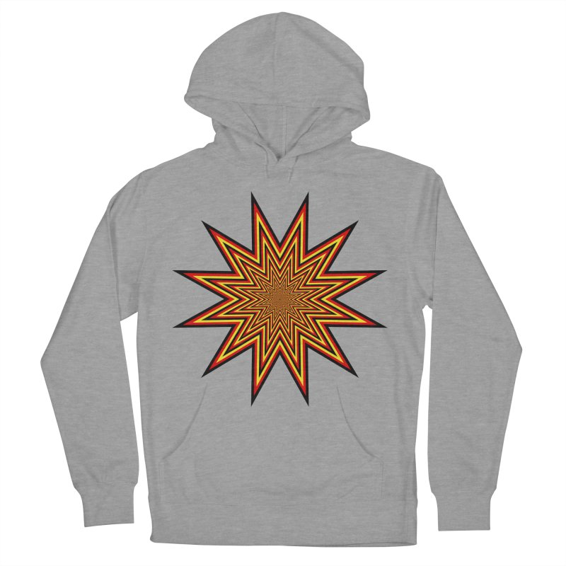 12 Star Women's French Terry Pullover Hoody by nickaker's Artist Shop