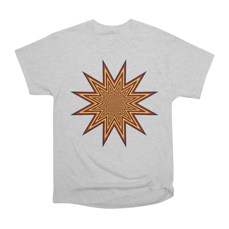 12 Star Women's Heavyweight Unisex T-Shirt by nickaker's Artist Shop