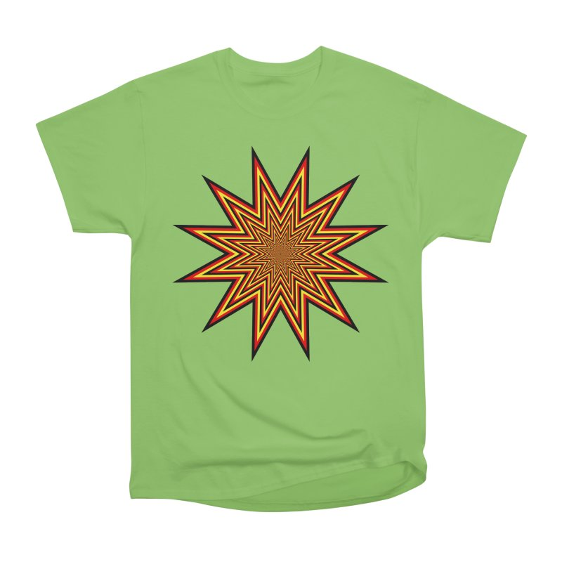 12 Star Women's Heavyweight Unisex T-Shirt by nickaker's Artist Shop