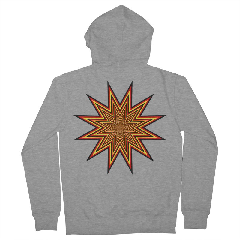 12 Star Women's French Terry Zip-Up Hoody by nickaker's Artist Shop