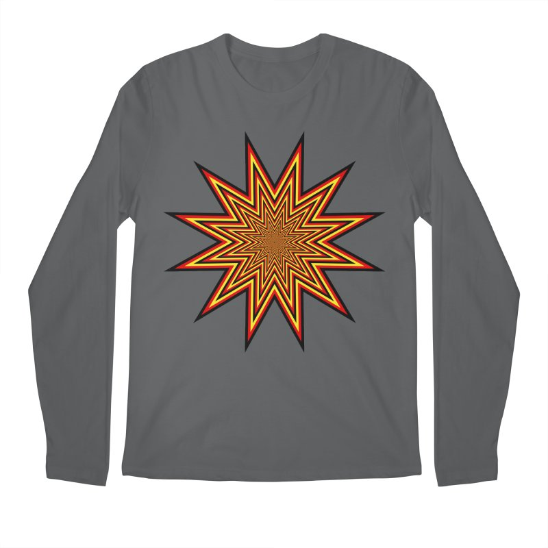 12 Star Men's Regular Longsleeve T-Shirt by nickaker's Artist Shop