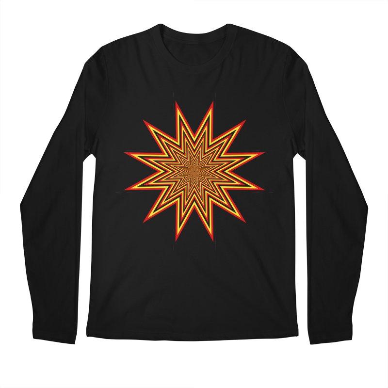 12 Star Men's Longsleeve T-Shirt by nickaker's Artist Shop