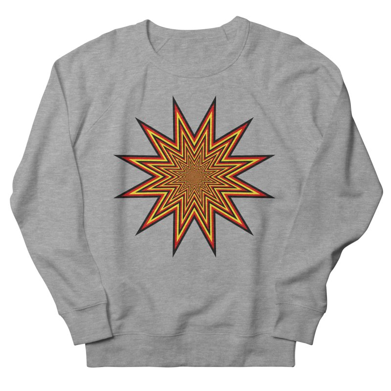 12 Star Women's French Terry Sweatshirt by nickaker's Artist Shop
