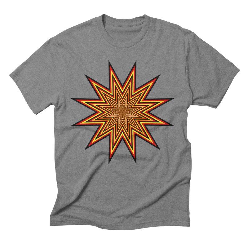 12 Star Men's Triblend T-Shirt by nickaker's Artist Shop