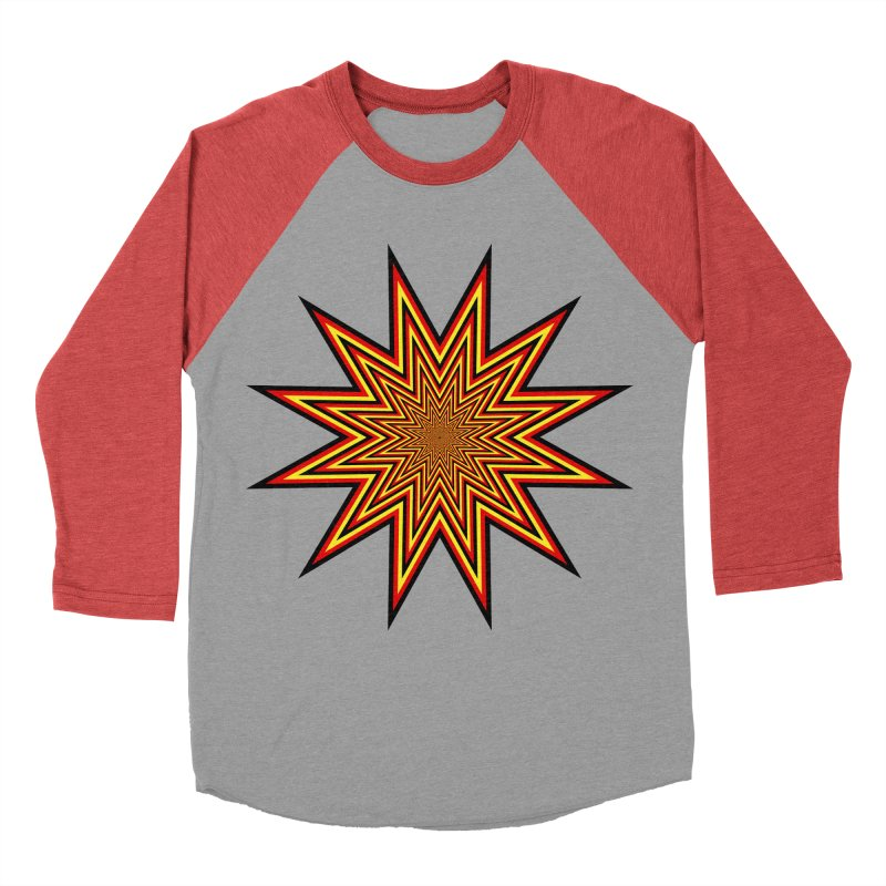 12 Star Women's Baseball Triblend T-Shirt by nickaker's Artist Shop