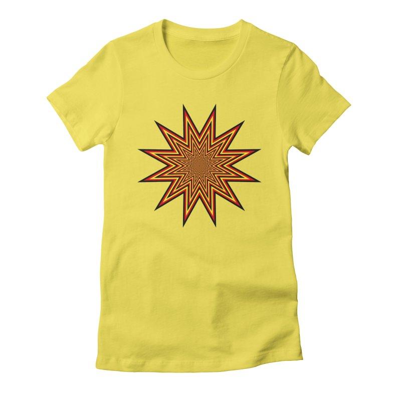 12 Star Women's T-Shirt by nickaker's Artist Shop