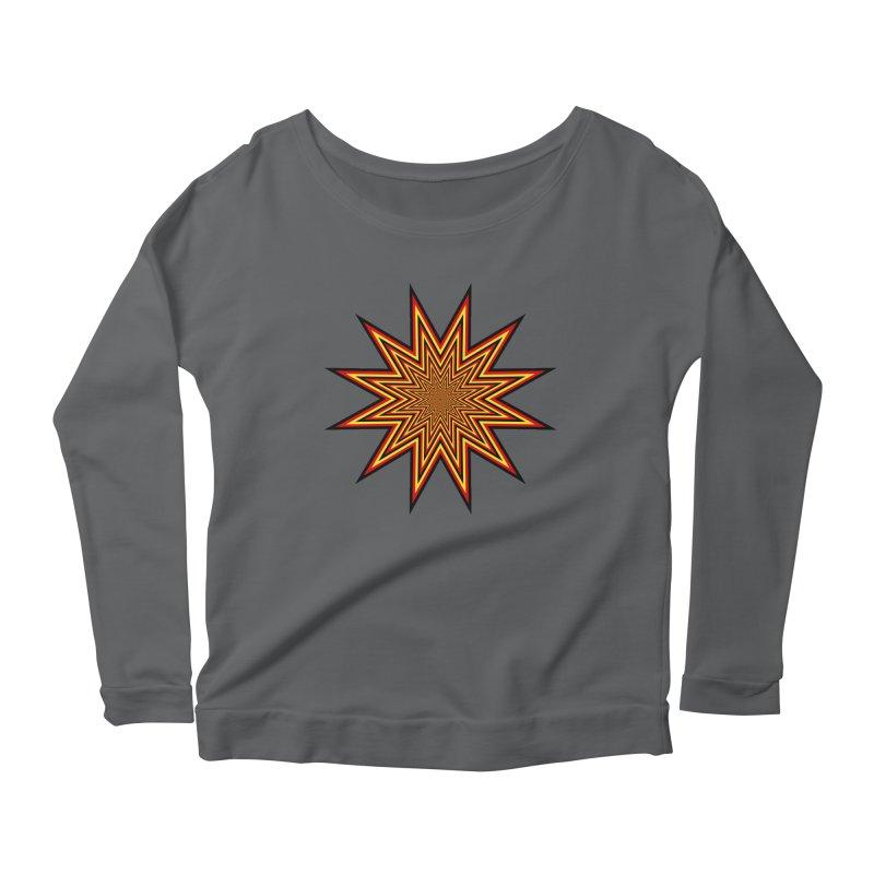 12 Star Women's Scoop Neck Longsleeve T-Shirt by nickaker's Artist Shop
