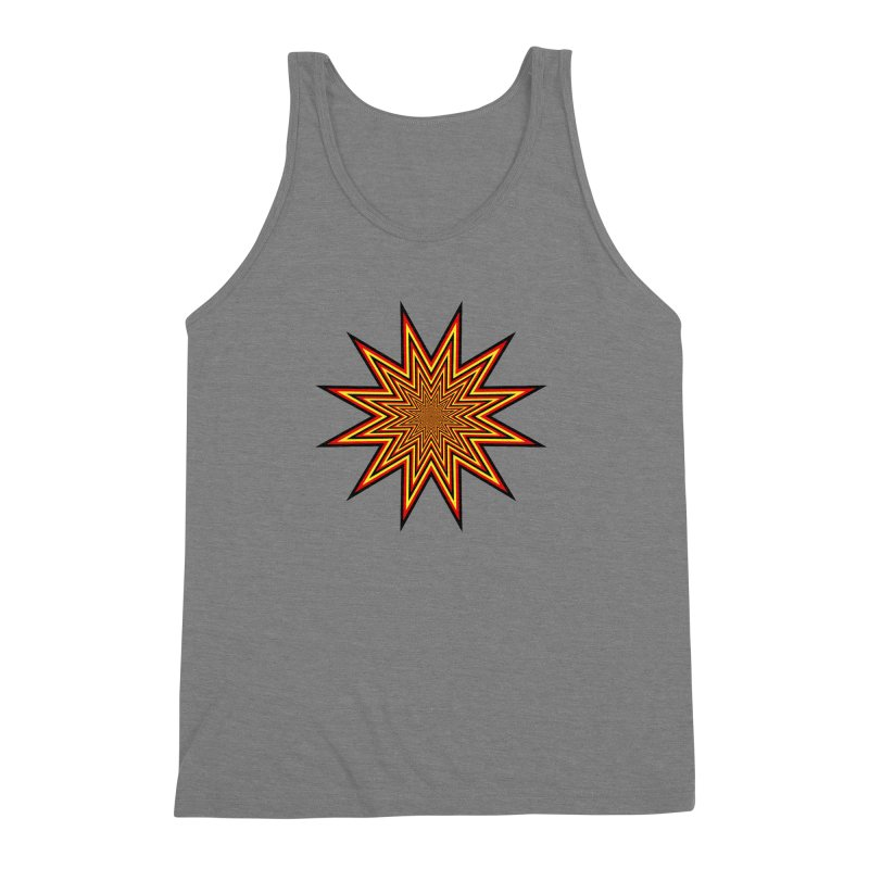 12 Star Men's Triblend Tank by nickaker's Artist Shop