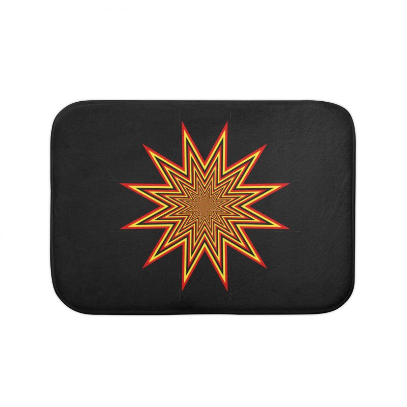 12 Star Home Bath Mat by nickaker's Artist Shop