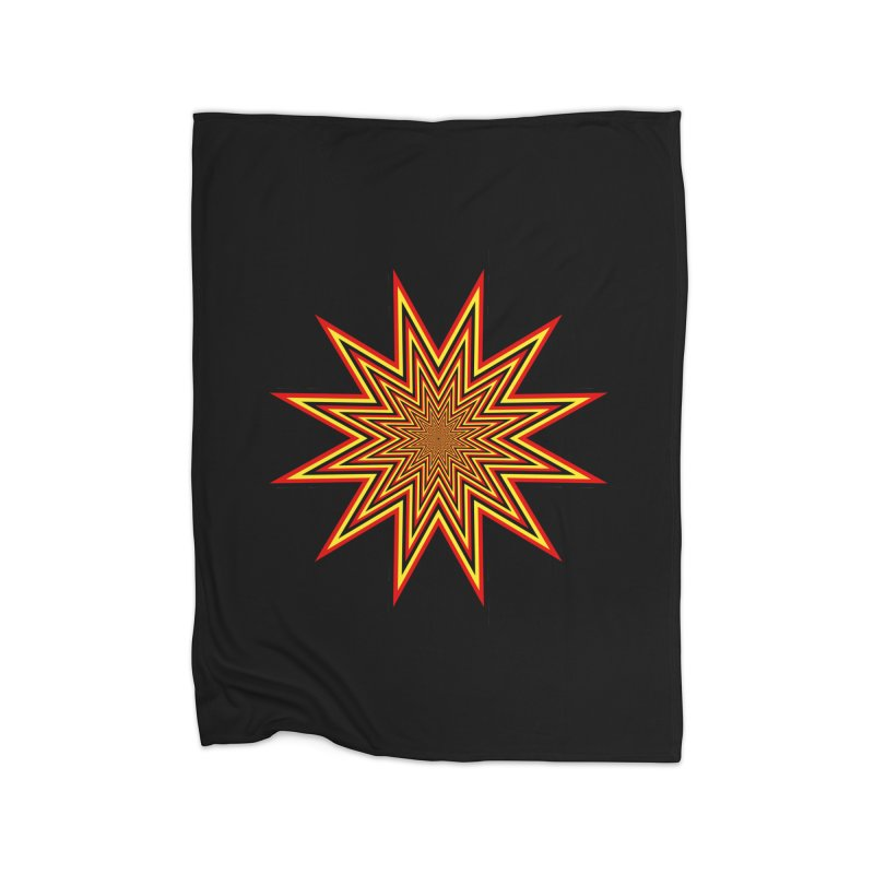 12 Star Home Fleece Blanket Blanket by nickaker's Artist Shop