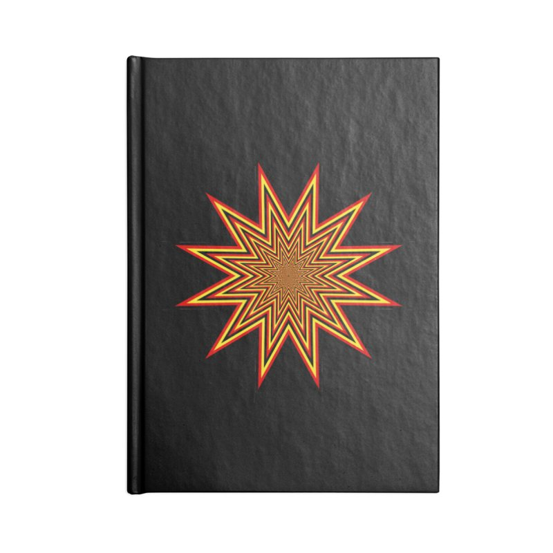 12 Star Accessories Lined Journal Notebook by nickaker's Artist Shop