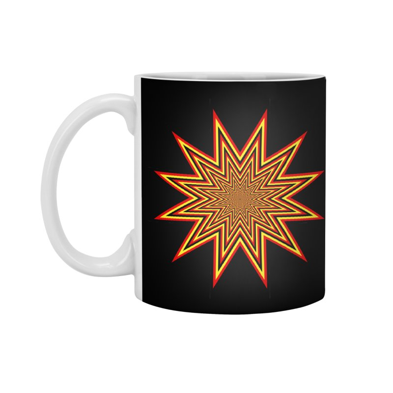 12 Star Accessories Standard Mug by nickaker's Artist Shop