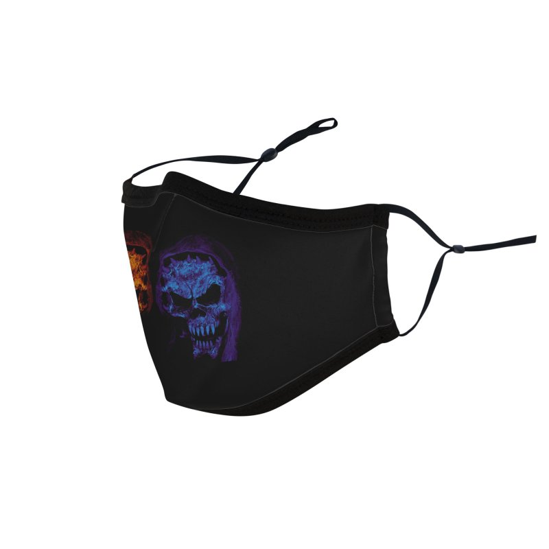 Fire and Ice Accessories Face Mask by nickaker's Artist Shop