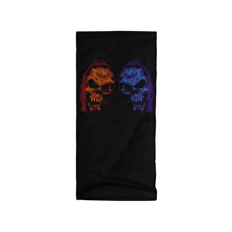 Fire and Ice Accessories Neck Gaiter by nickaker's Artist Shop