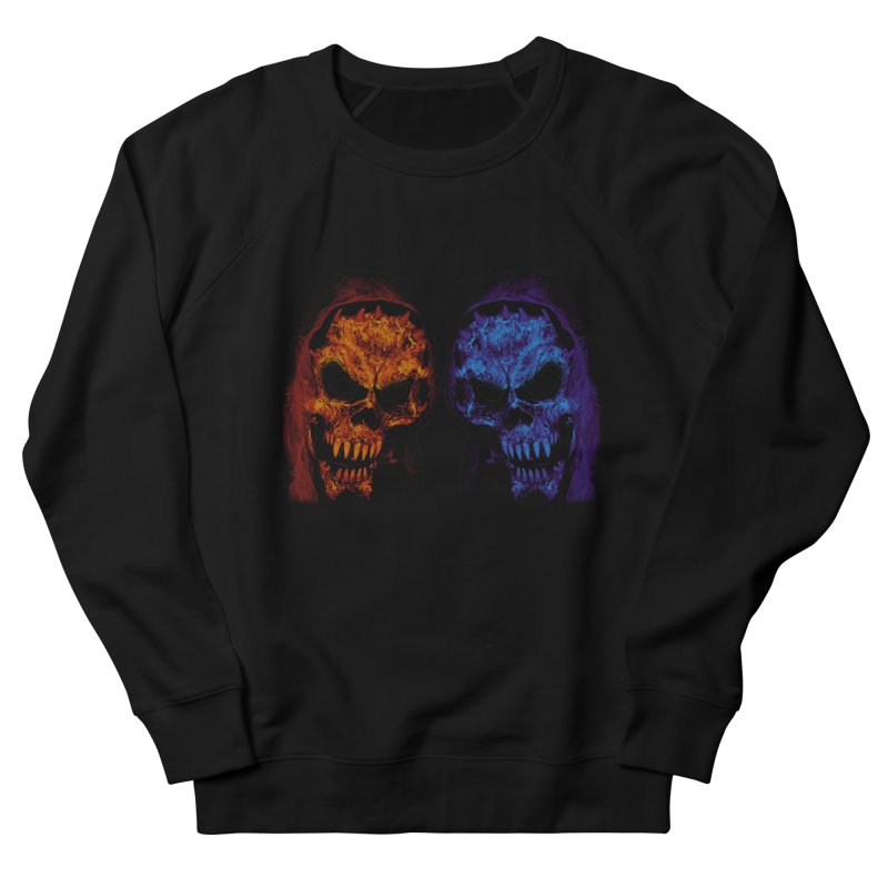 Fire and Ice Men's Sweatshirt by nickaker's Artist Shop