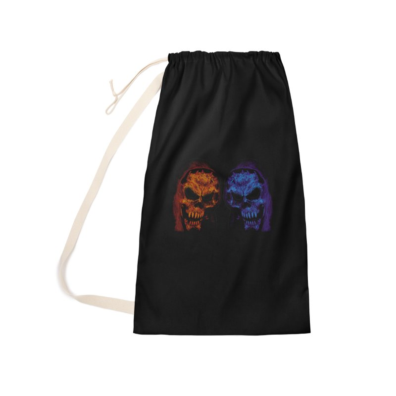 Fire and Ice Accessories Bag by nickaker's Artist Shop