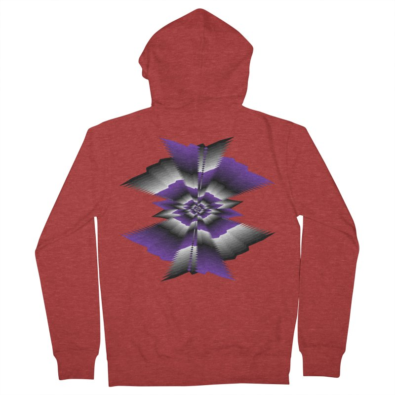 Catch X-22 P&B Women's French Terry Zip-Up Hoody by nickaker's Artist Shop