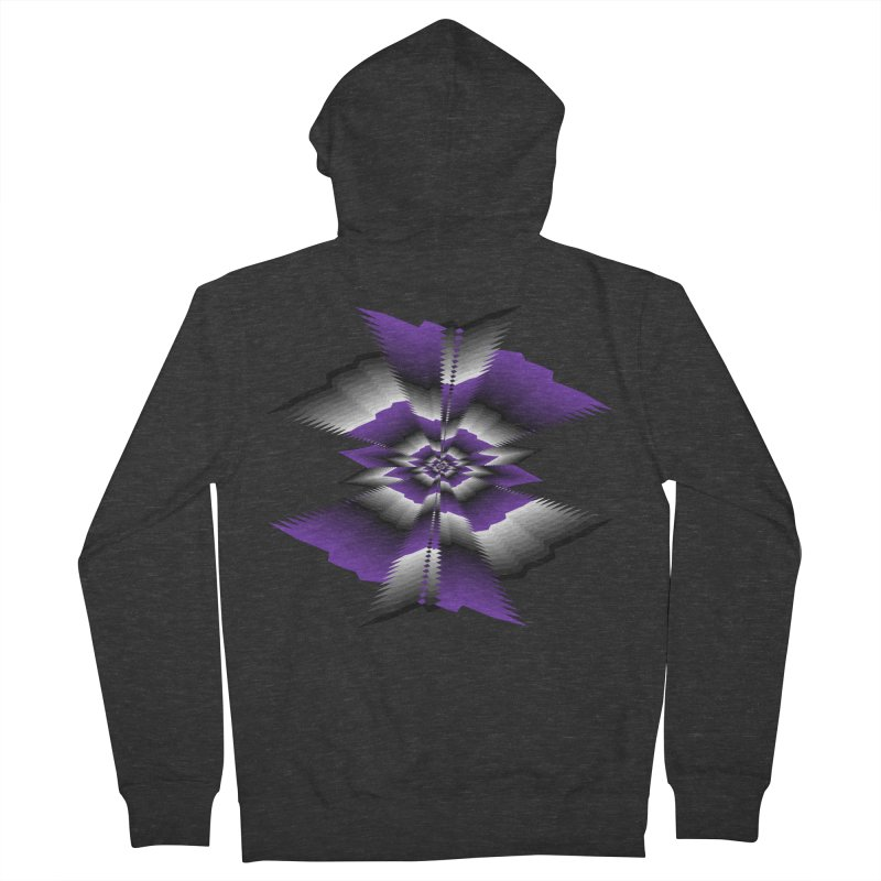 Catch X-22 P&B Men's French Terry Zip-Up Hoody by nickaker's Artist Shop