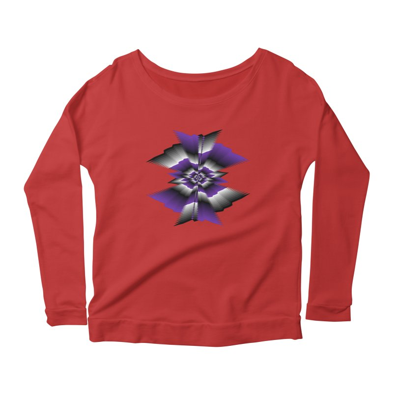 Catch X-22 P&B Women's Longsleeve Scoopneck  by nickaker's Artist Shop