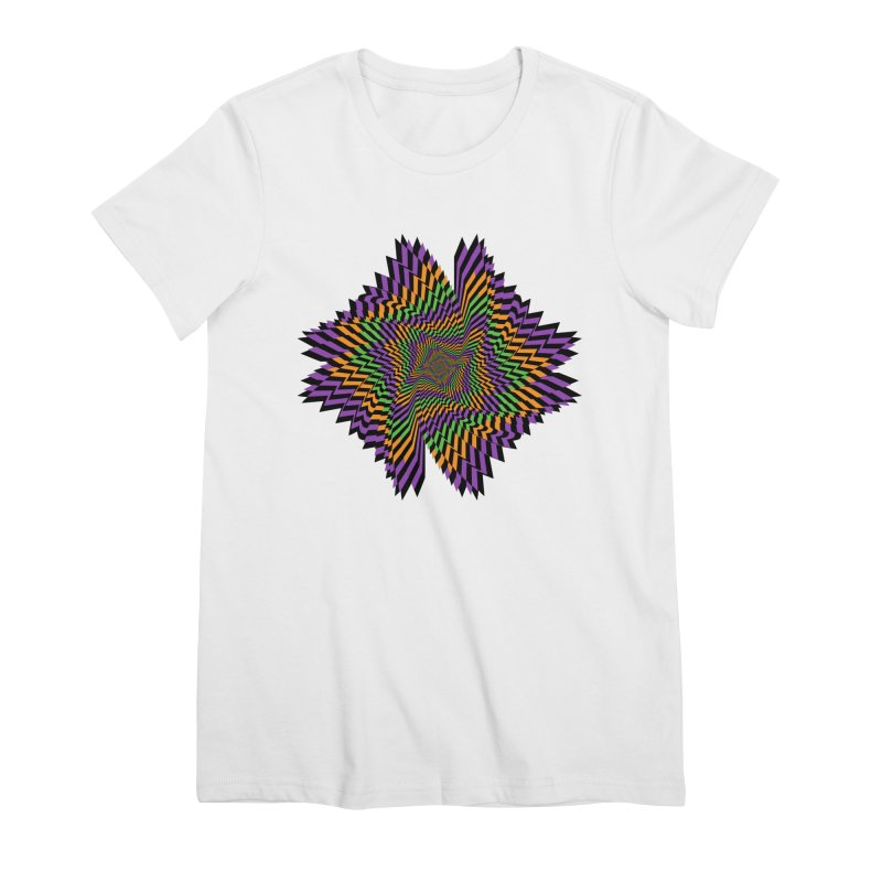 Hallow Spin Women's Premium T-Shirt by nickaker's Artist Shop