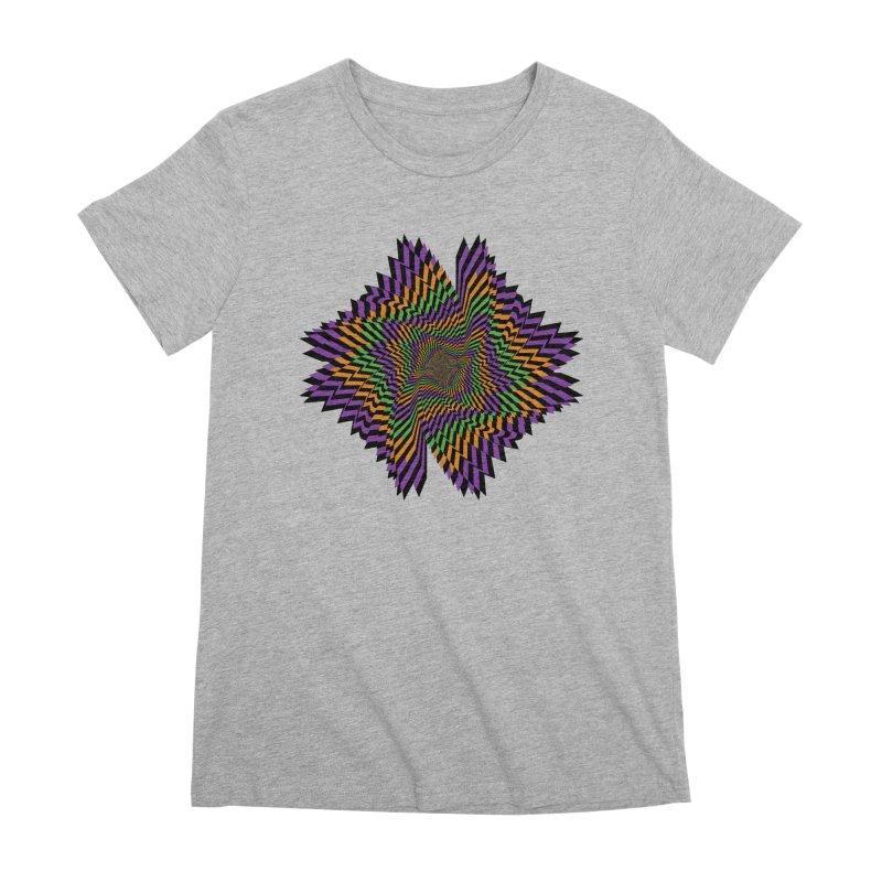 Hallow Spin Women's Premium T-Shirt by nickaker's Artist Shop