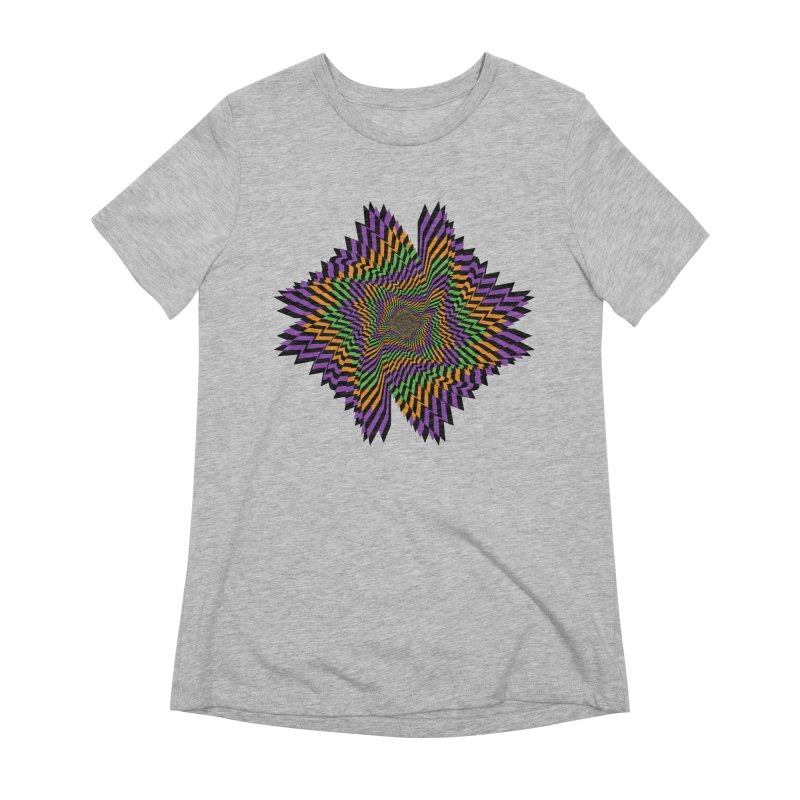 Hallow Spin Women's Extra Soft T-Shirt by nickaker's Artist Shop