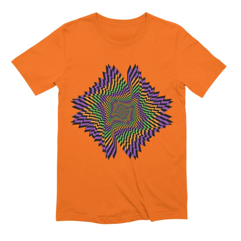 Hallow Spin Men's Extra Soft T-Shirt by nickaker's Artist Shop