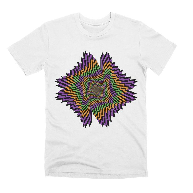 Hallow Spin Men's Premium T-Shirt by nickaker's Artist Shop