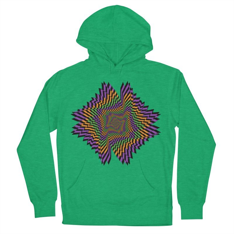 Hallow Spin Women's French Terry Pullover Hoody by nickaker's Artist Shop