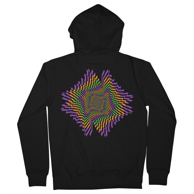 Hallow Spin Women's French Terry Zip-Up Hoody by nickaker's Artist Shop