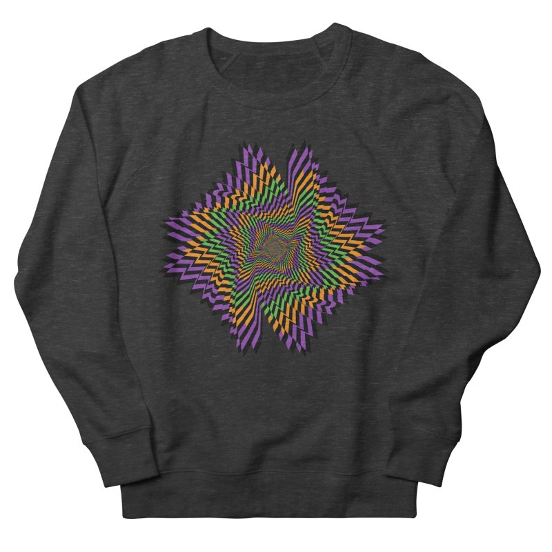 Hallow Spin Men's French Terry Sweatshirt by nickaker's Artist Shop