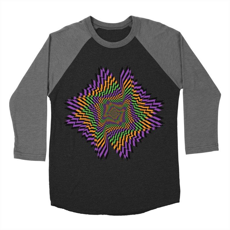 Hallow Spin Women's Baseball Triblend Longsleeve T-Shirt by nickaker's Artist Shop