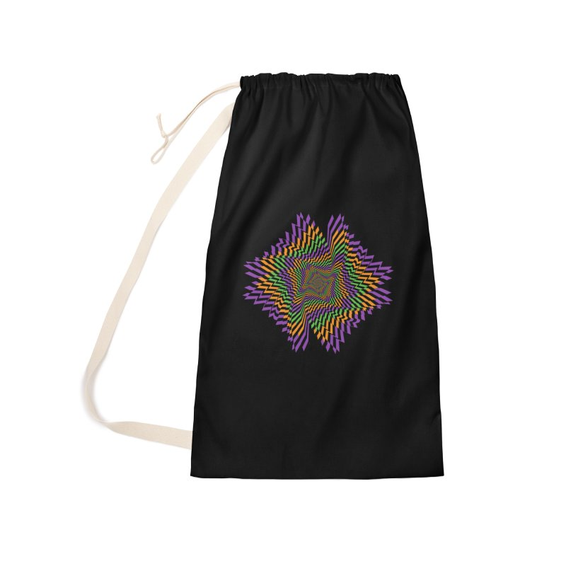 Hallow Spin Accessories Laundry Bag Bag by nickaker's Artist Shop