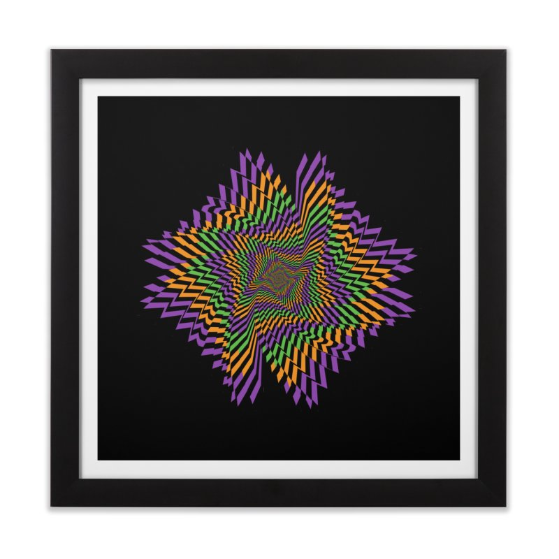 Hallow Spin Home Framed Fine Art Print by nickaker's Artist Shop