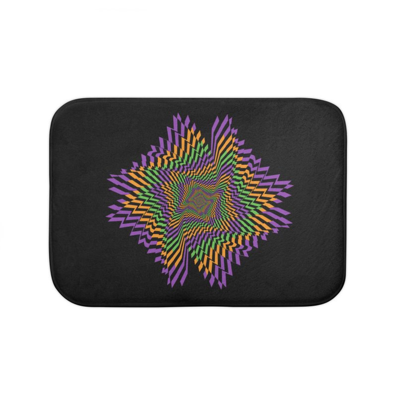 Hallow Spin Home Bath Mat by nickaker's Artist Shop