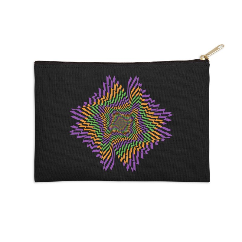 Hallow Spin Accessories Zip Pouch by nickaker's Artist Shop