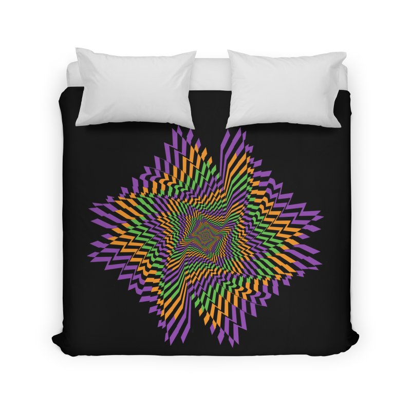 Hallow Spin Home Duvet by nickaker's Artist Shop
