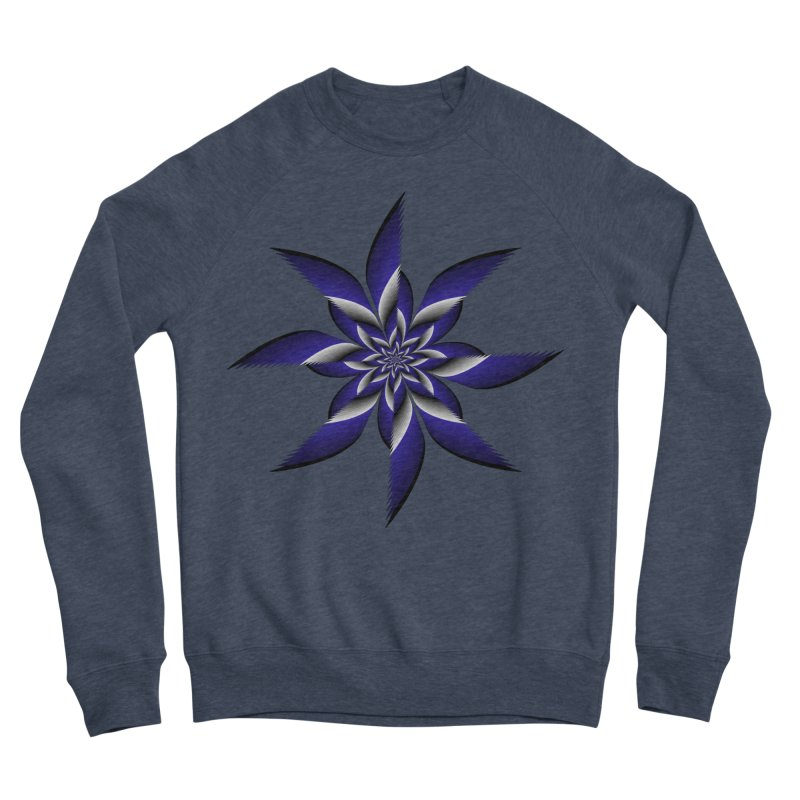 Ninja Star Pincher Men's Sponge Fleece Sweatshirt by nickaker's Artist Shop
