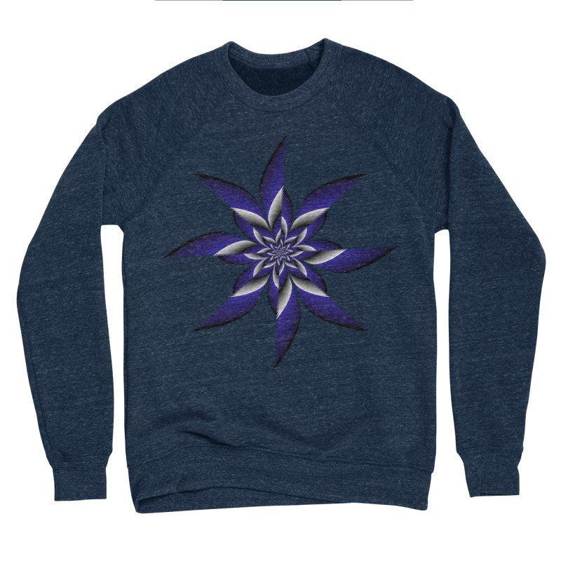 Ninja Star Pincher Men's Sponge Fleece Sweatshirt by nickaker's Artist Shop