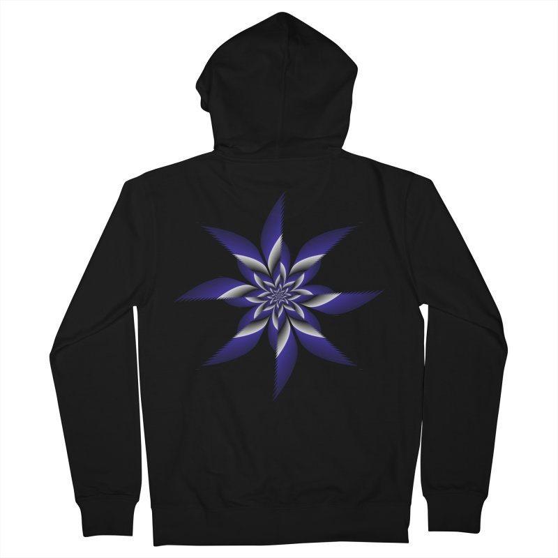 Ninja Star Pincher Men's French Terry Zip-Up Hoody by nickaker's Artist Shop