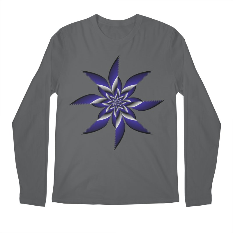 Ninja Star Pincher Men's Regular Longsleeve T-Shirt by nickaker's Artist Shop