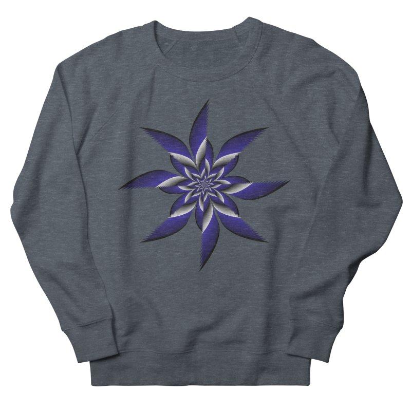 Ninja Star Pincher Men's French Terry Sweatshirt by nickaker's Artist Shop