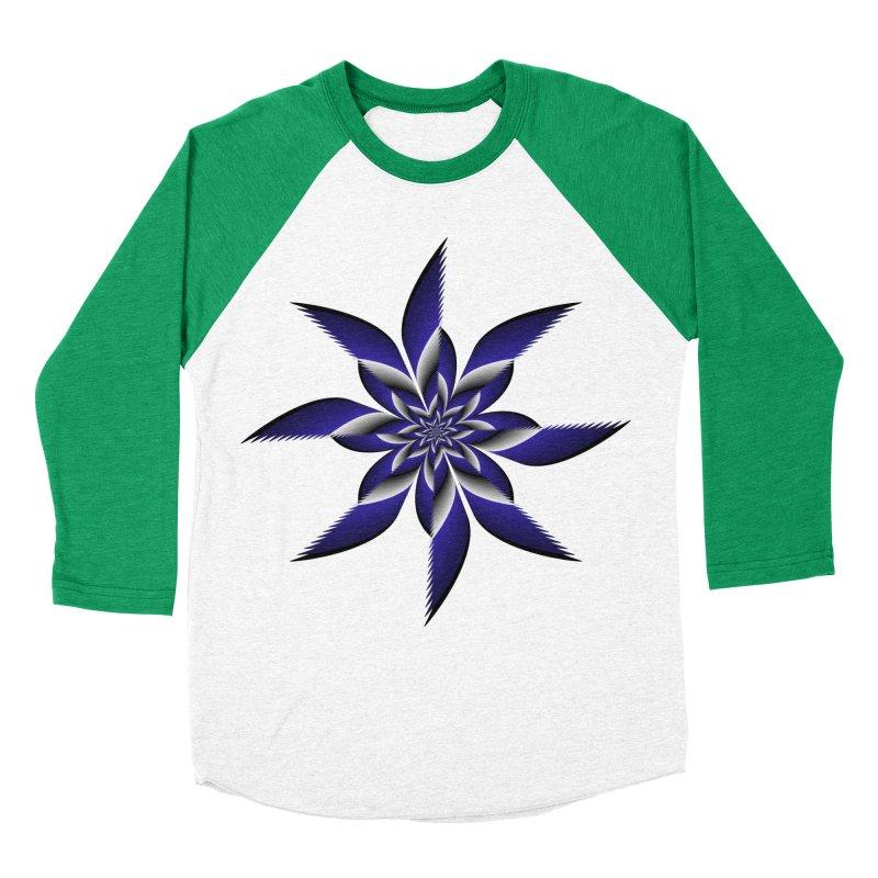 Ninja Star Pincher Men's Baseball Triblend Longsleeve T-Shirt by nickaker's Artist Shop