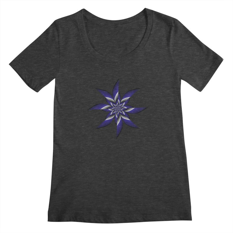 Ninja Star Pincher Women's Scoopneck by nickaker's Artist Shop