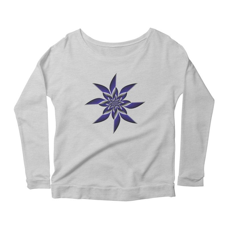 Ninja Star Pincher Women's Scoop Neck Longsleeve T-Shirt by nickaker's Artist Shop