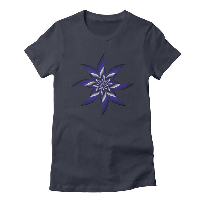 Ninja Star Pincher Women's Fitted T-Shirt by nickaker's Artist Shop