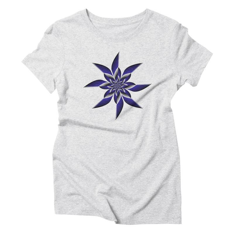 Ninja Star Pincher Women's Triblend T-Shirt by nickaker's Artist Shop