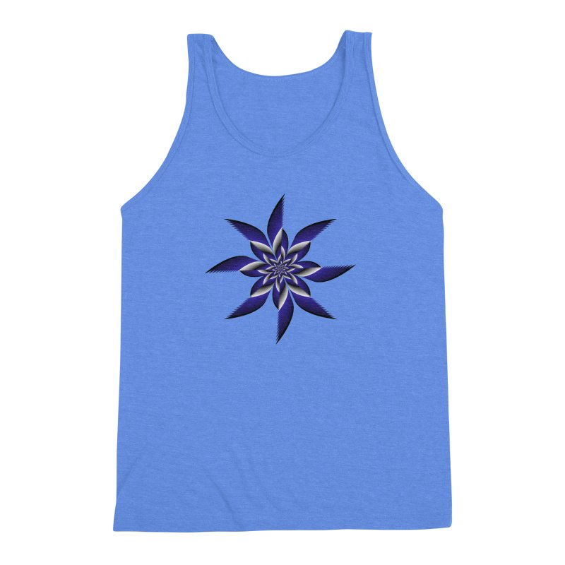 Ninja Star Pincher Men's Triblend Tank by nickaker's Artist Shop
