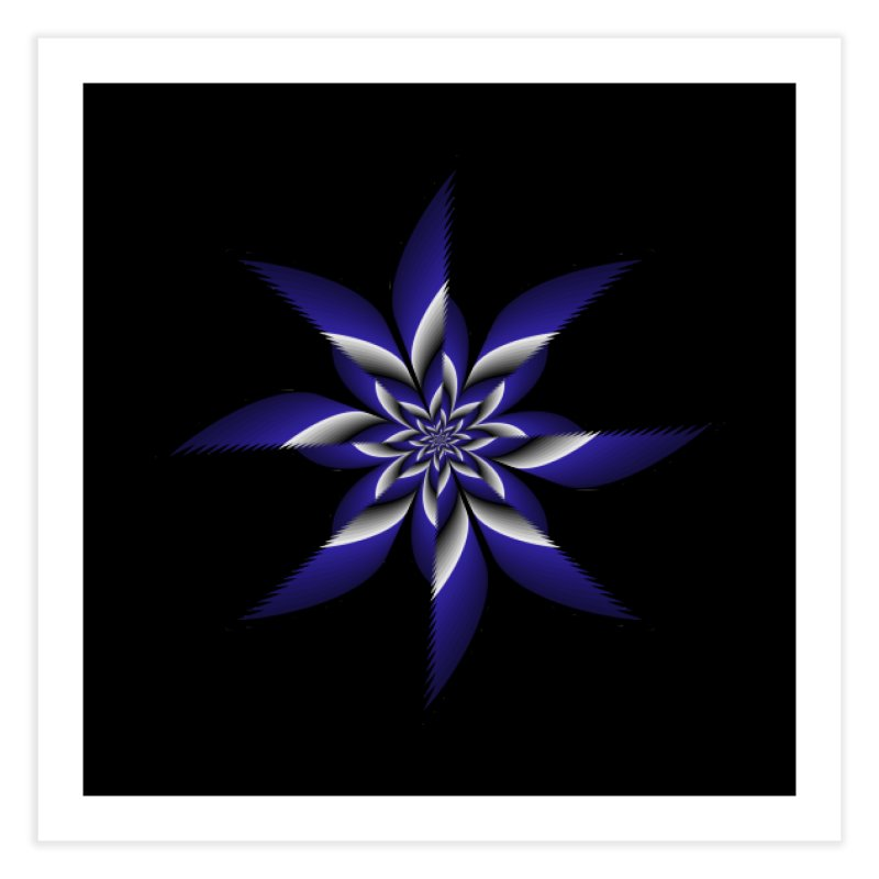 Ninja Star Pincher Home Fine Art Print by nickaker's Artist Shop